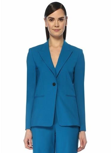Diane Von Furstenberg Ceket Mavi